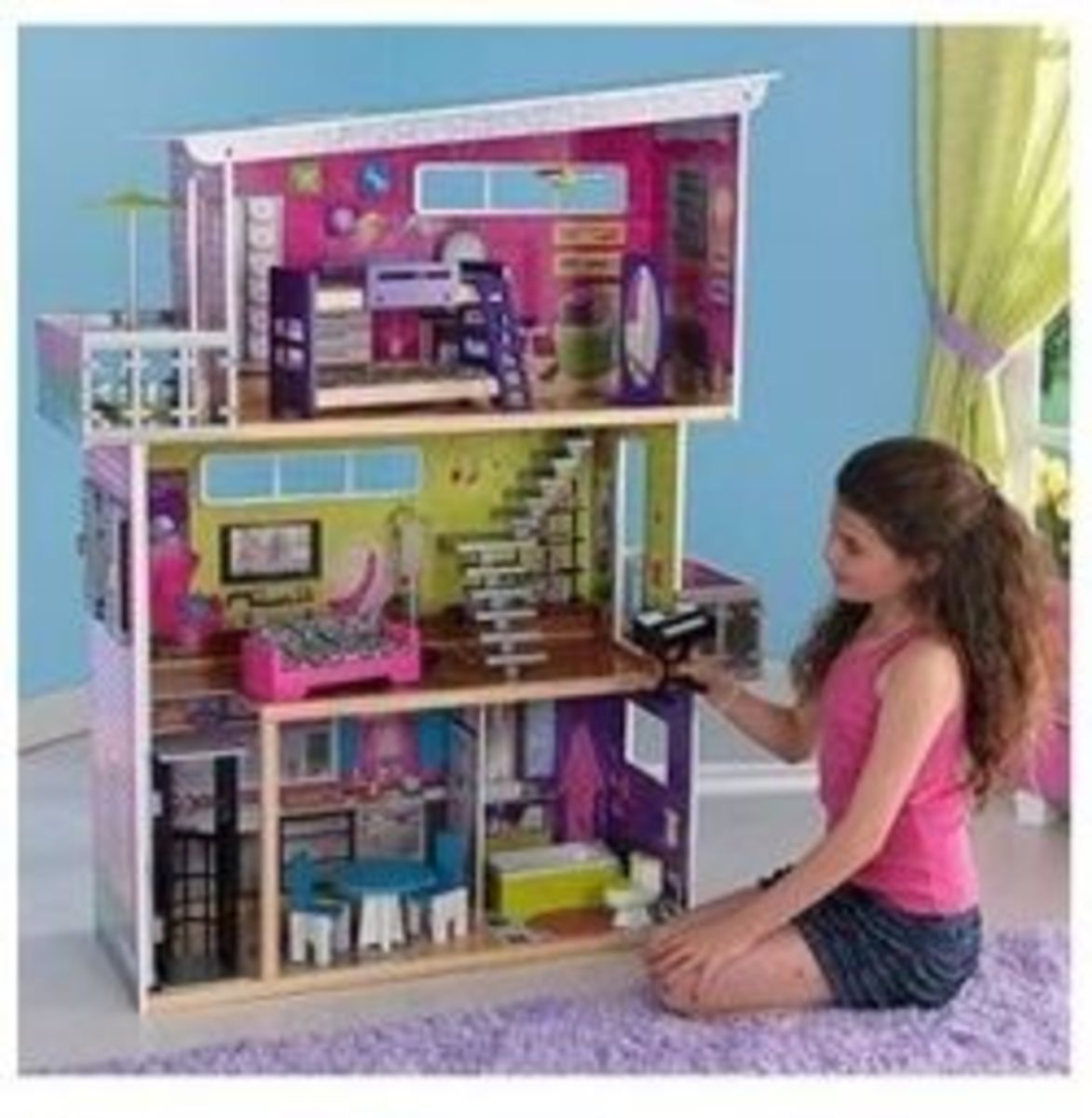 diy and better barbie dollhouses and furniture hubpages. Black Bedroom Furniture Sets. Home Design Ideas