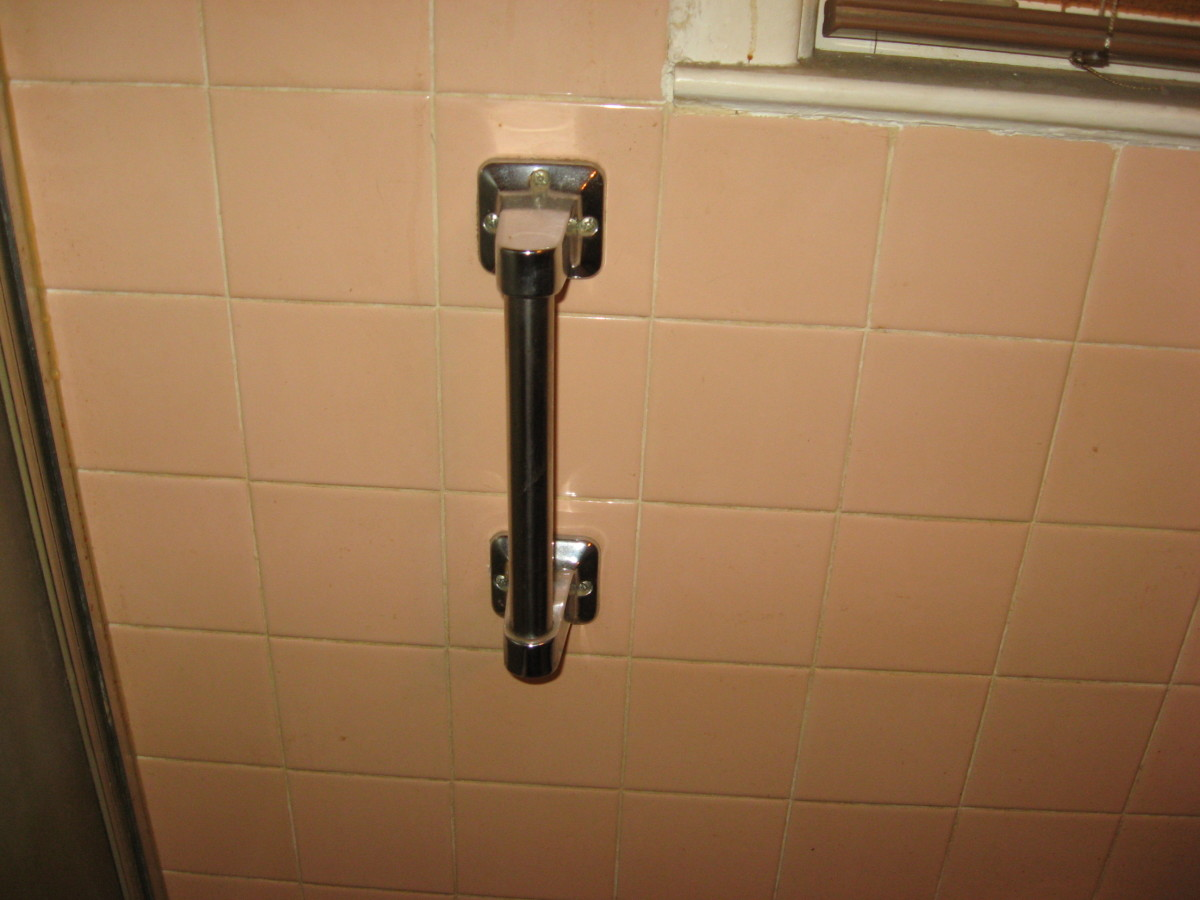 We have several Grab Bars in our bathrooms.