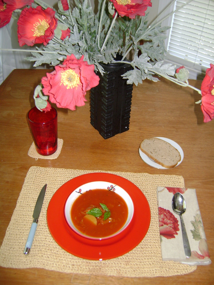 Healthy and EasyTomato Cabbage Soup