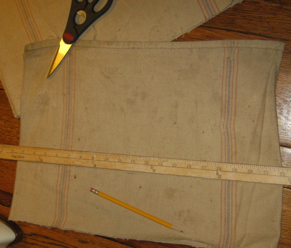 Measure before cutting
