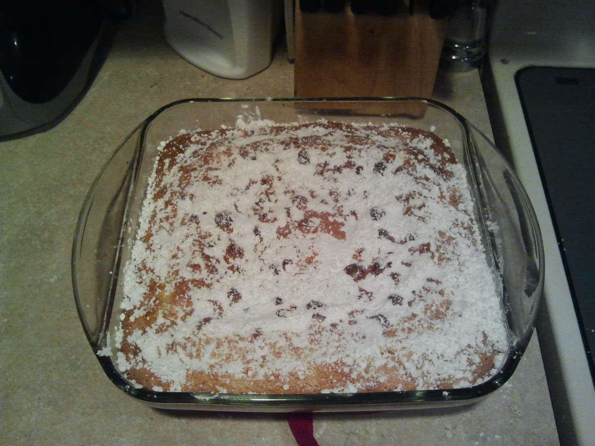 Gluten Free Ooey Gooey Butter Cake Recipe
