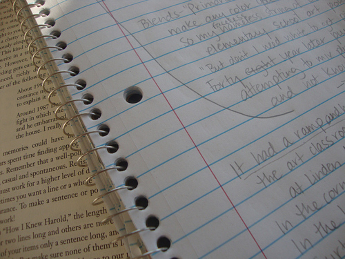 A plain spiral notebook works just fine for daily teacher-parent communication.