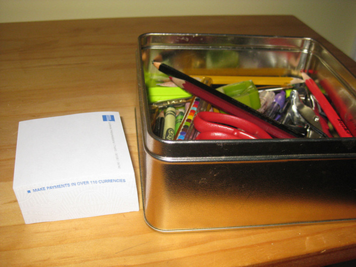 Having special education room supplies in labeled pencil boxes will decrease time spent running back and forth between classrooms.