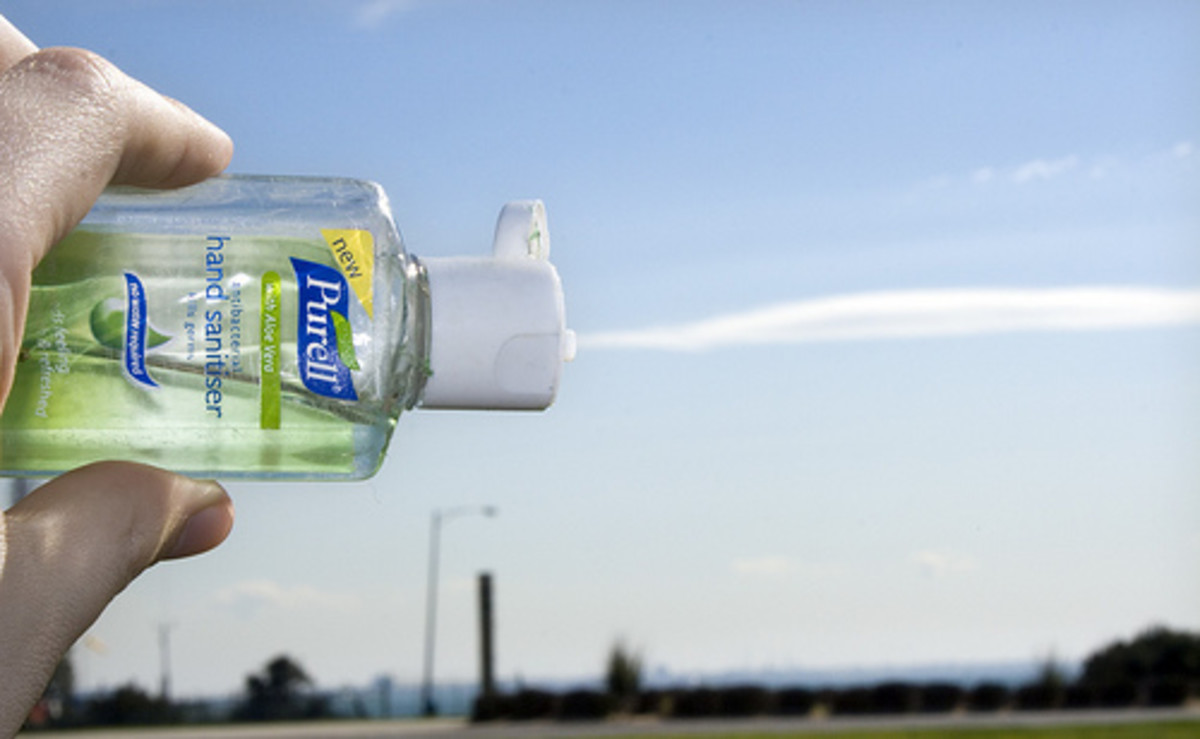 Hand sanitizer is inexpensive and easy to store in multiple locations throughout a classroom.