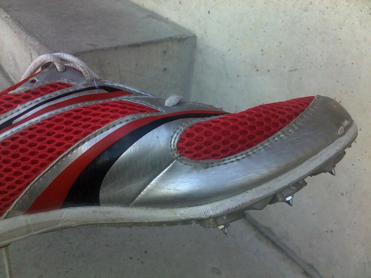 Your runner may need running spikes for some races.