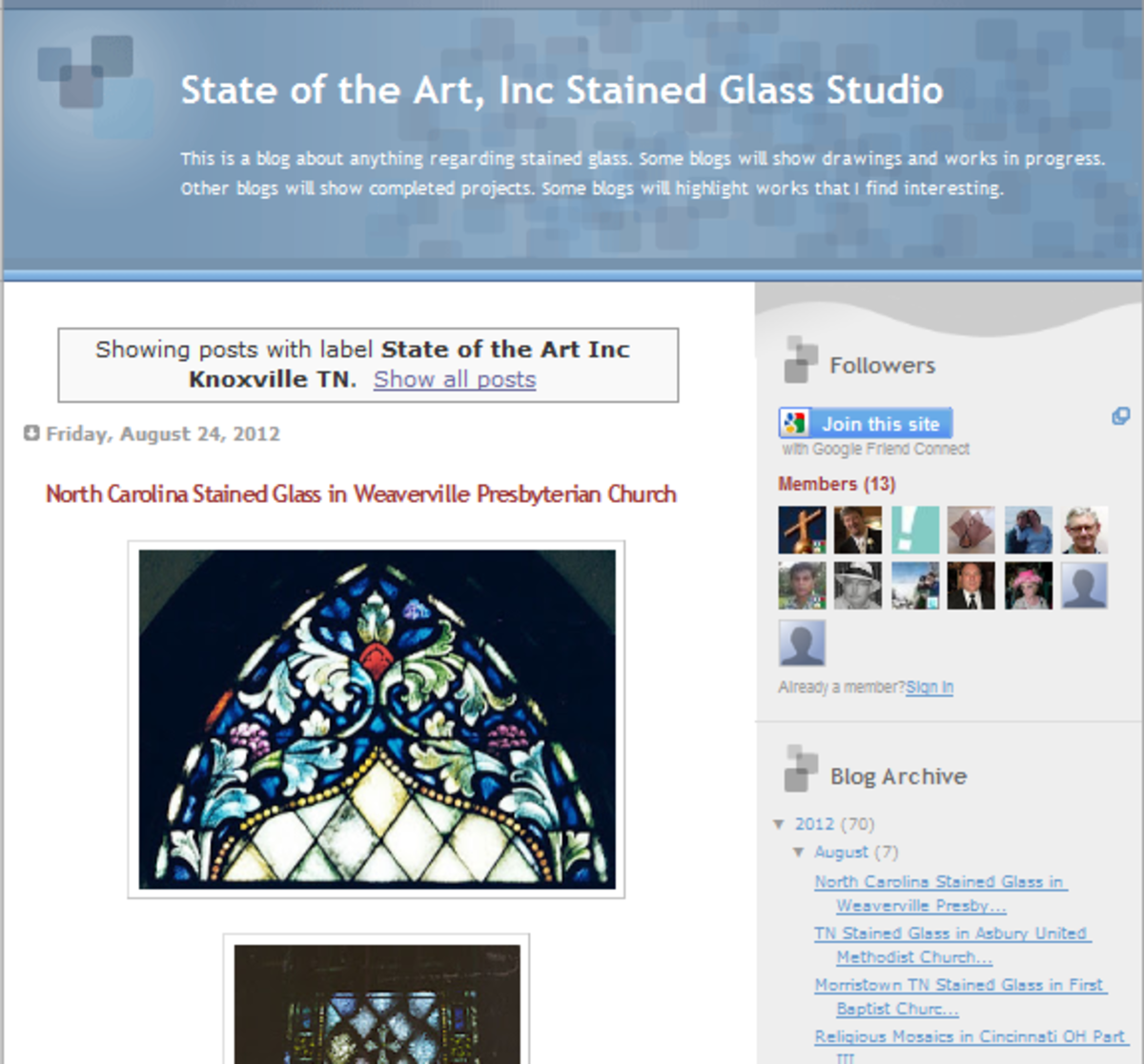 This is an awesome resource for venues, churches and places with stained glass windows