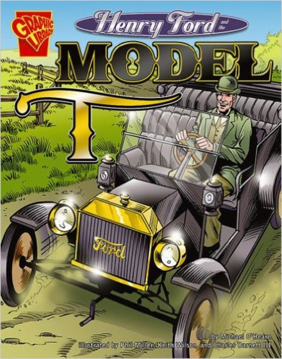 Henry Ford and the Model T (Inventions and Discovery) by Michael O'Hearn - Image is from amazon.com