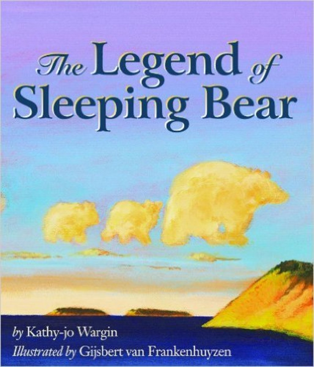 The Legend of Sleeping Bear by Kathy-Jo Wargin - All images are from amazon.com unless otherwise noted.