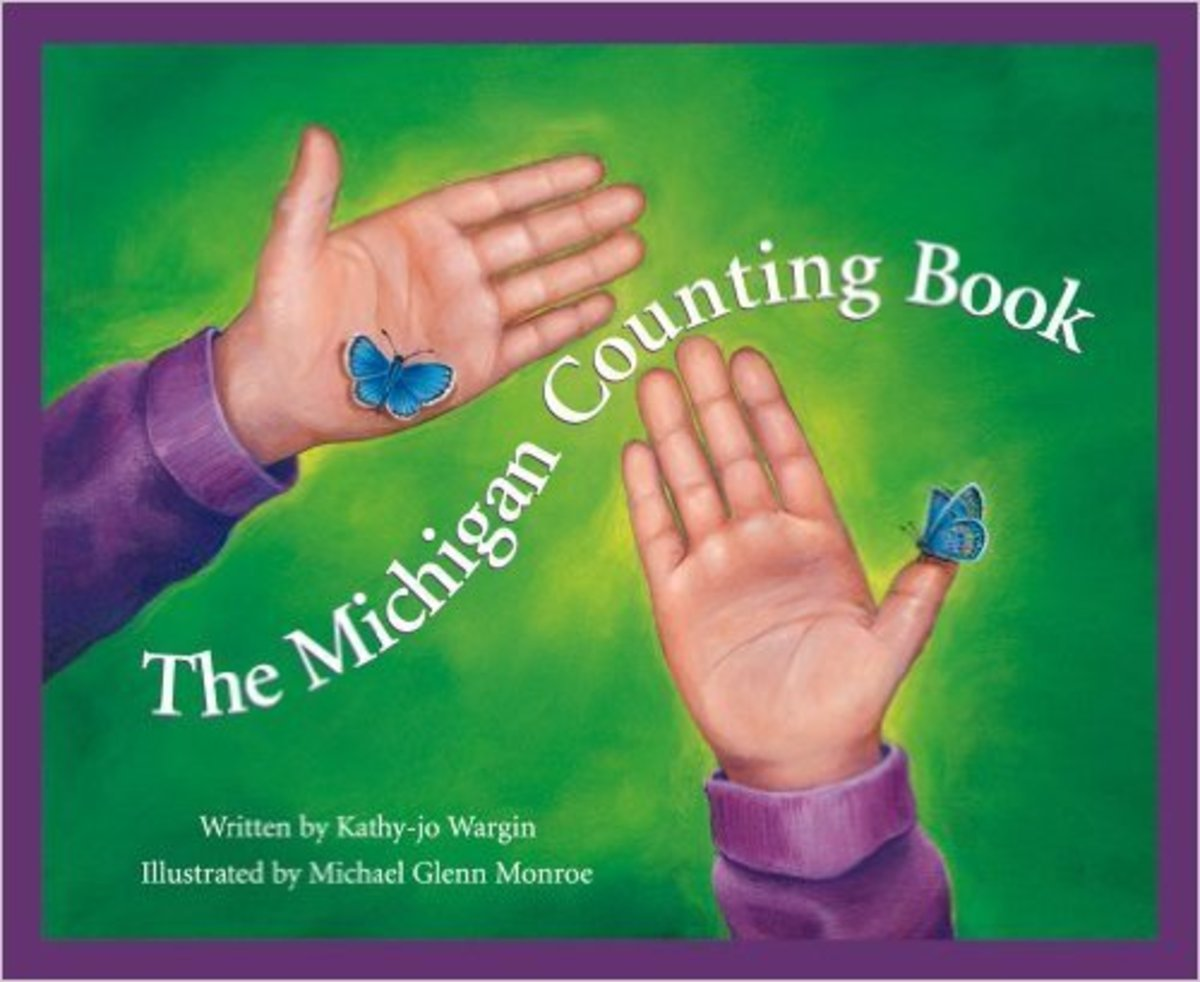 The Michigan Counting Book (America by the Numbers) by Kathy-jo Wargin