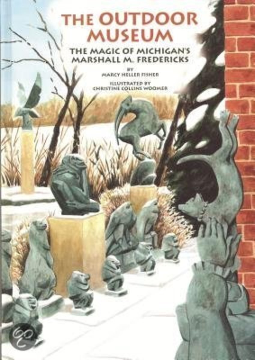 The Outdoor Museum: The Magic of Michigan's Marshall M. Fredericks (Great Lakes Books Series) by Marcy Heller Fisher (This image is from bol.com.)