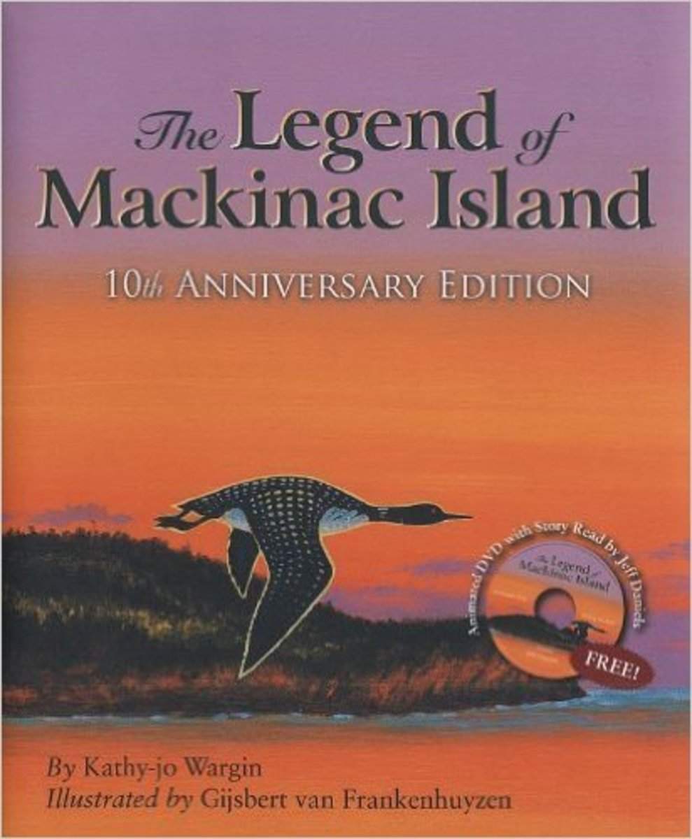 The Legend of Mackinac Island by Kathy-jo Wargin