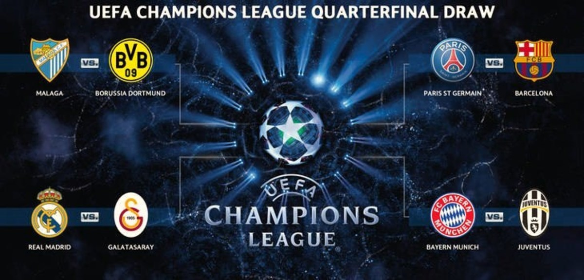 UEFA Champions League Quarterfinals