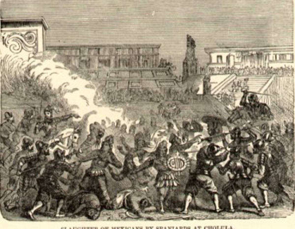 Massacre of the Cholulans
