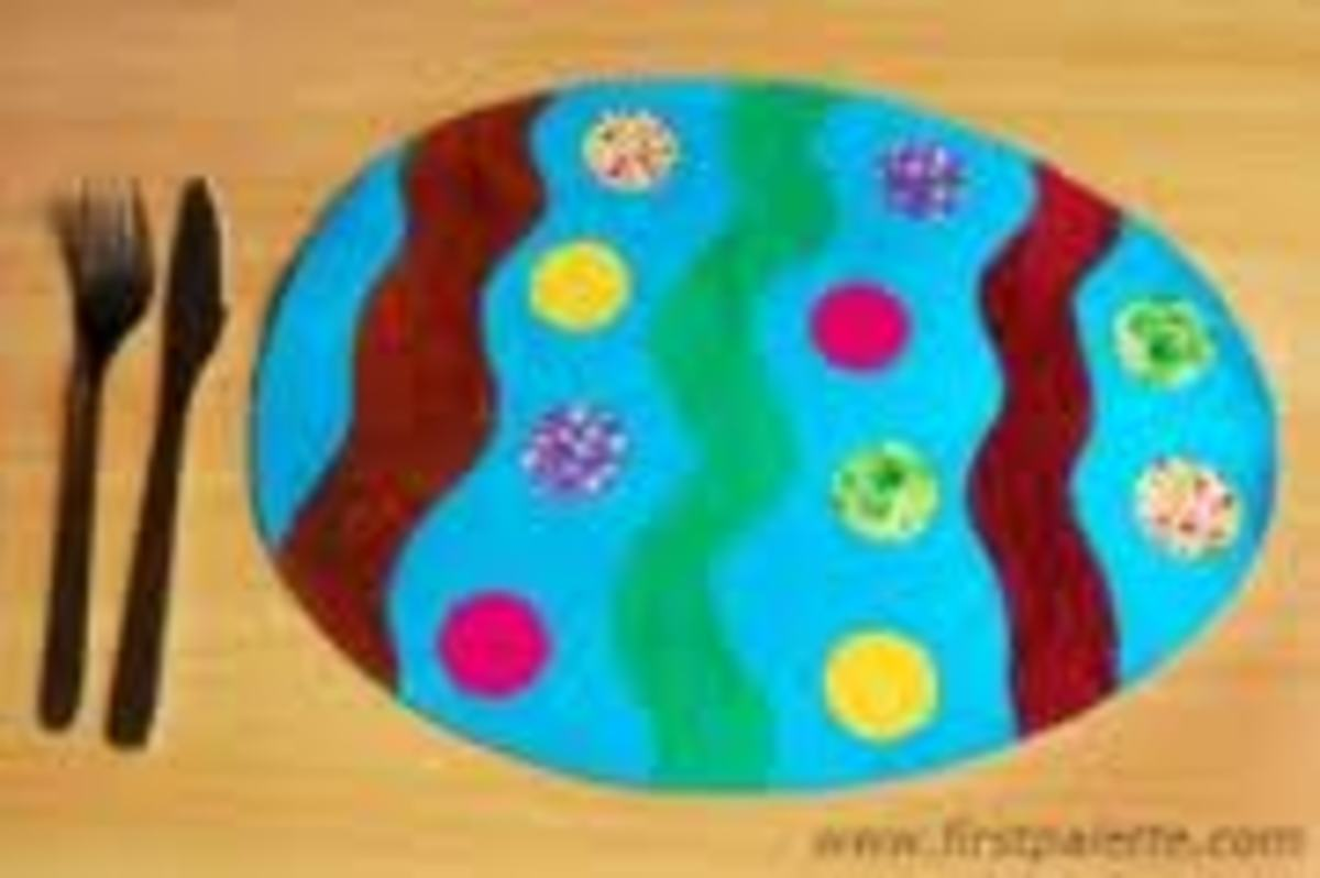 A CUTE PLACEMAT FOR EASTER