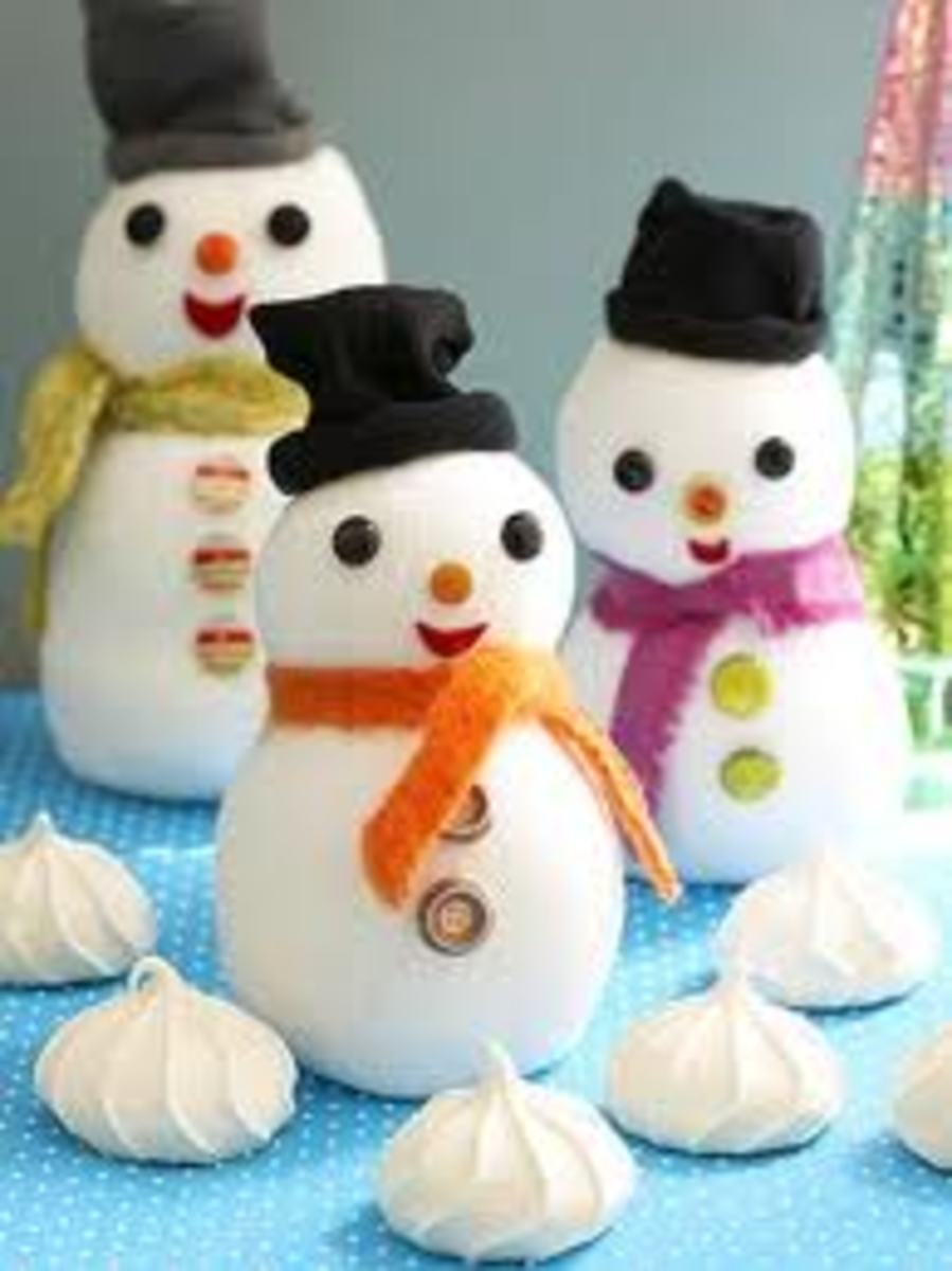 FIMO DOUGH SNOWMEN.  SNOWMEN ARE BY FAR THE EASIEST AND CUTEST PROJECT FOR KIDS TO TACKLE!