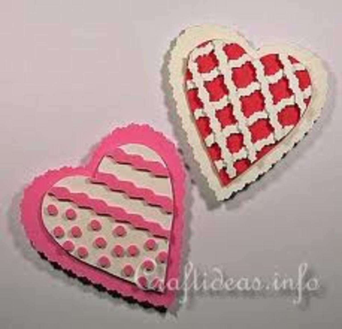 FOAM VALENTINE'S DAY MAGNETS