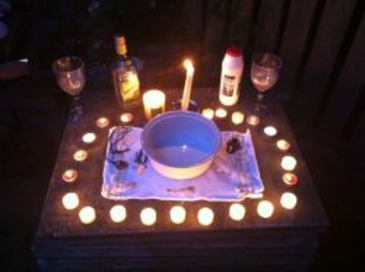 Witchy Midnight Margaritas