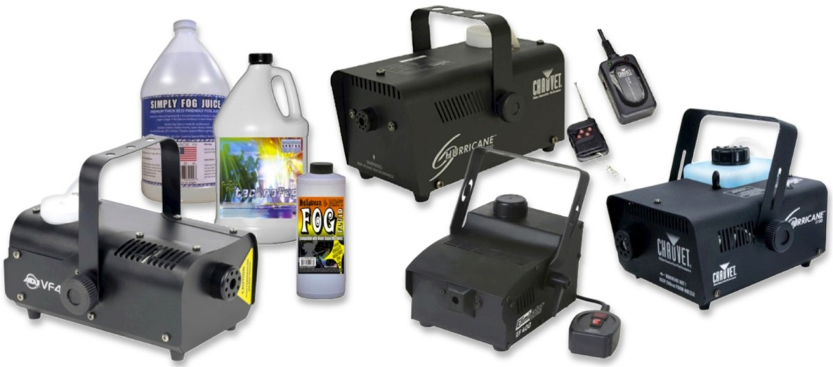 "Fog Machines and ""Juice"" for All of Your Halloween and Party Needs"