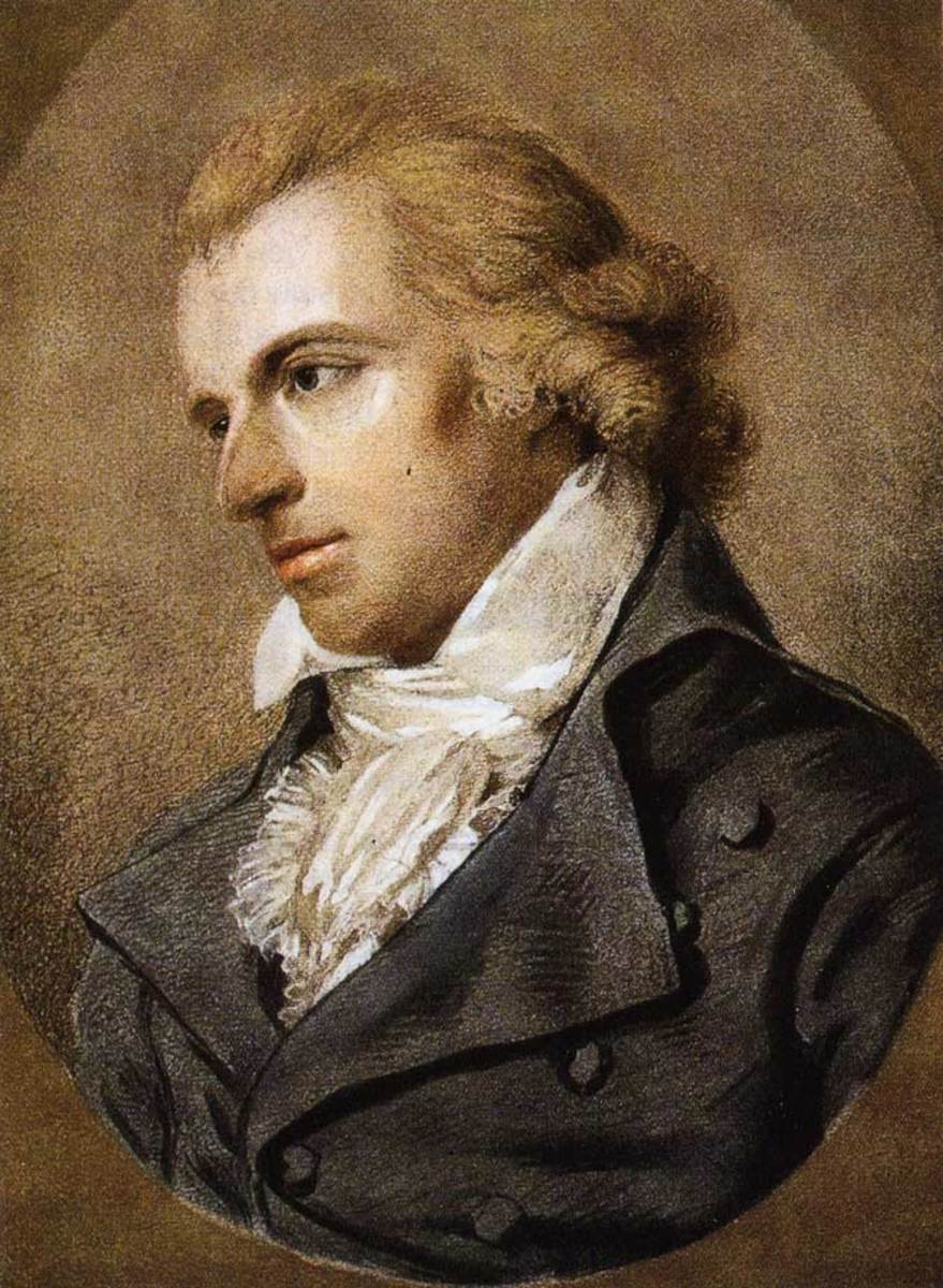 Painting of Friedrich Schiler