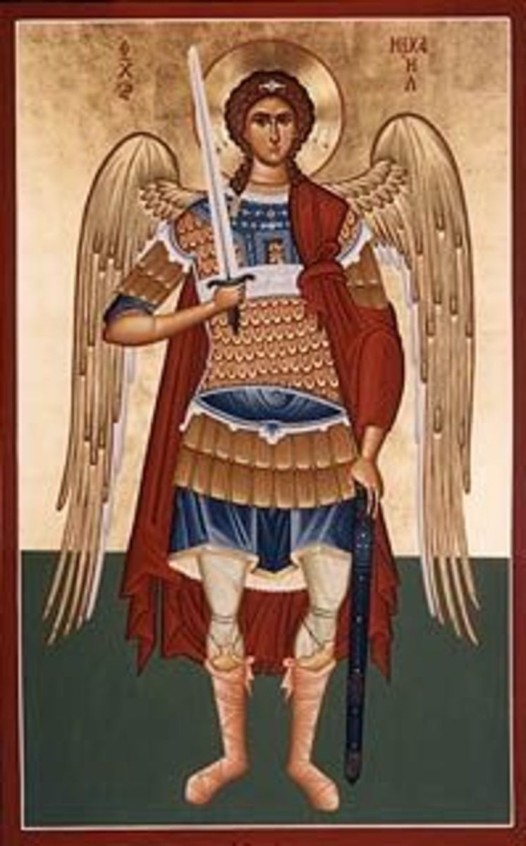 Assemble an Archangel Michael Costume
