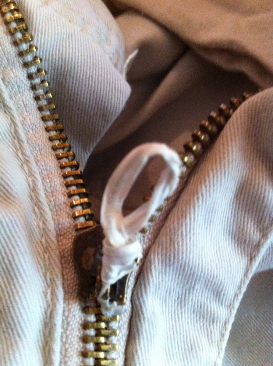 Easy and quick zipper fix.