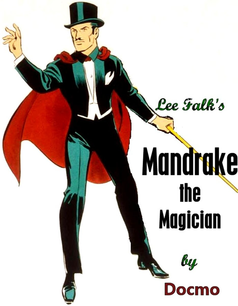 Mandrake The Magician - Comics First Superhero?
