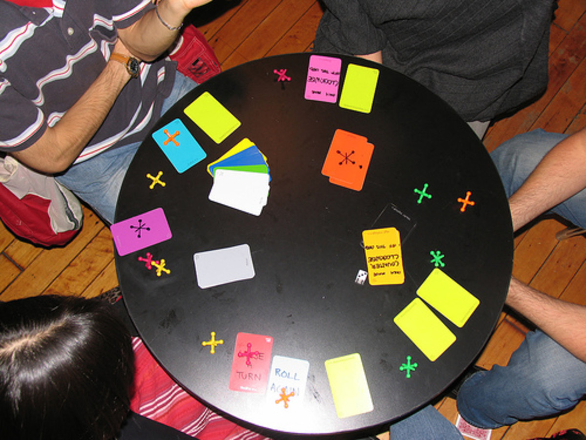 Design your own classroom board game and use paint chips for the board, cards, etc.