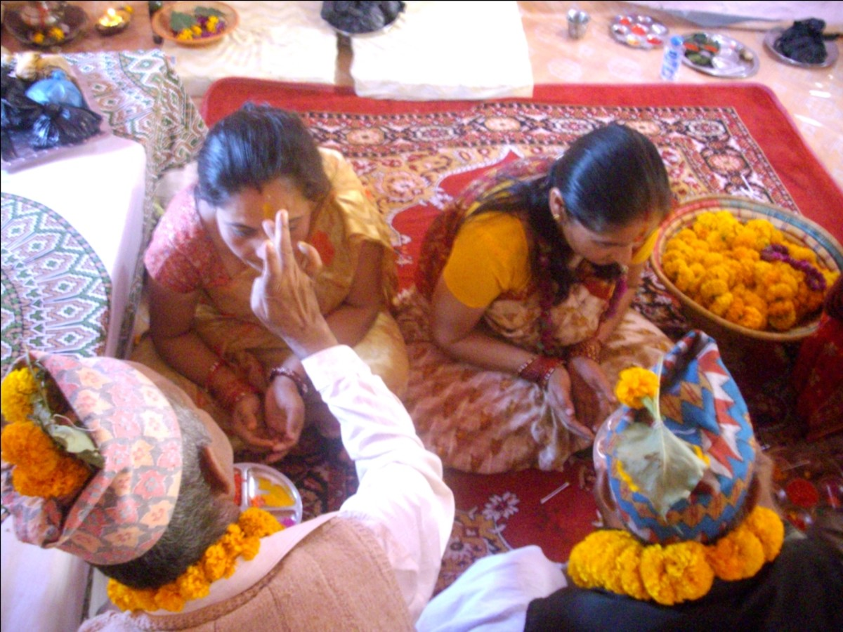Bhaitika is a Nepali festival for brothers and sister dedicated to Yama and Yami.