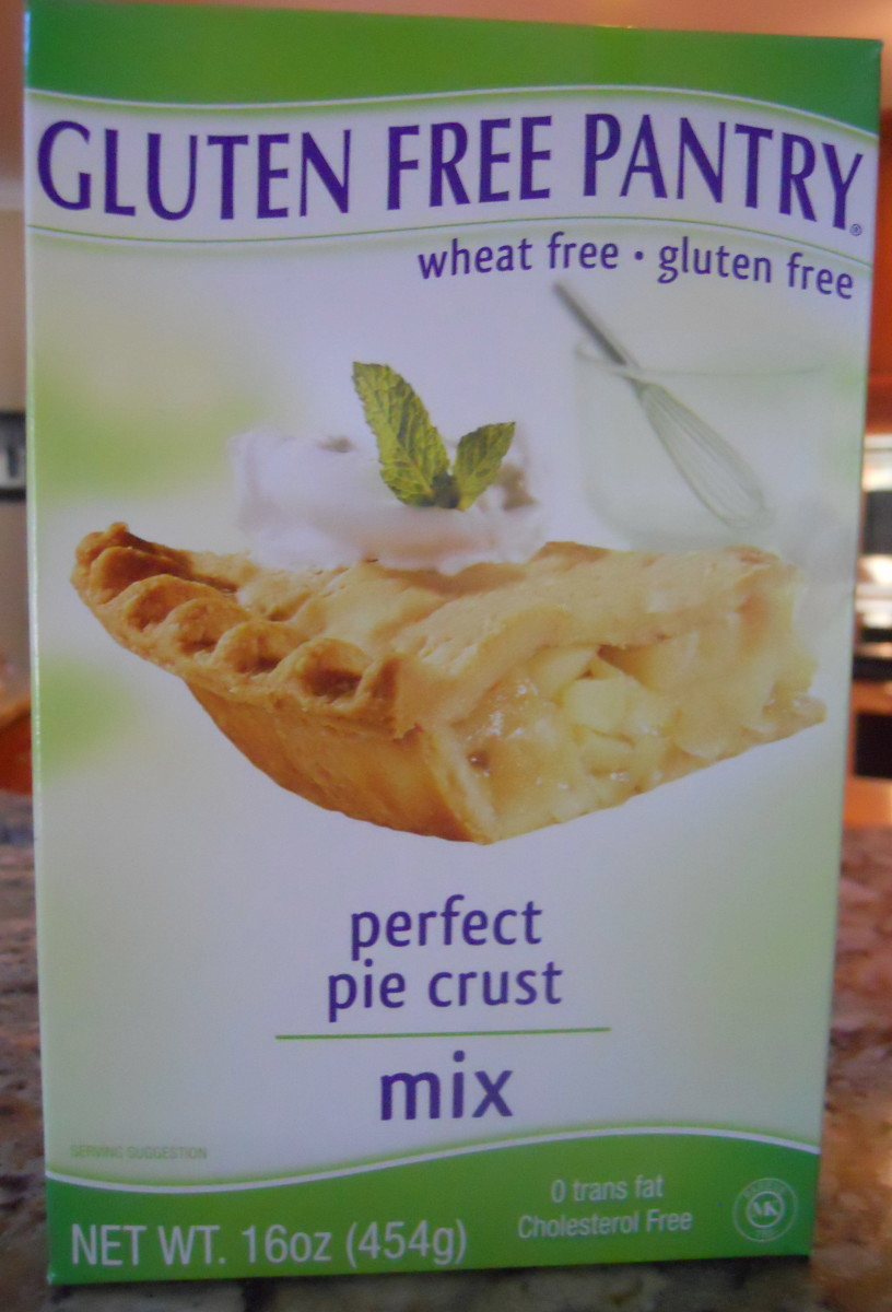 Gluten free pie crust mixes are getting better