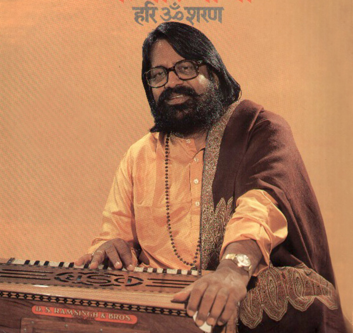 The legendary Hari Om Sharan with his favorite friend - the harmonium!