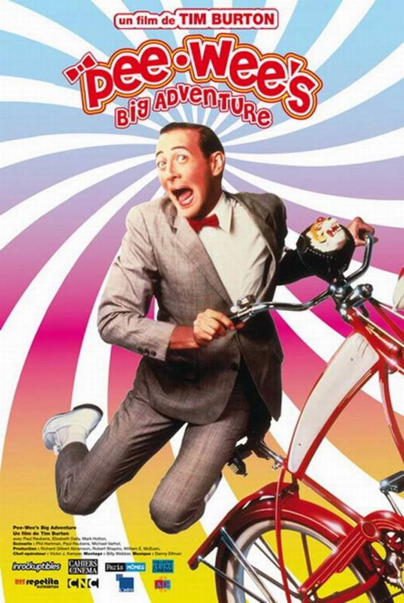 Pee Wee's Big Adventure (1985) French poster