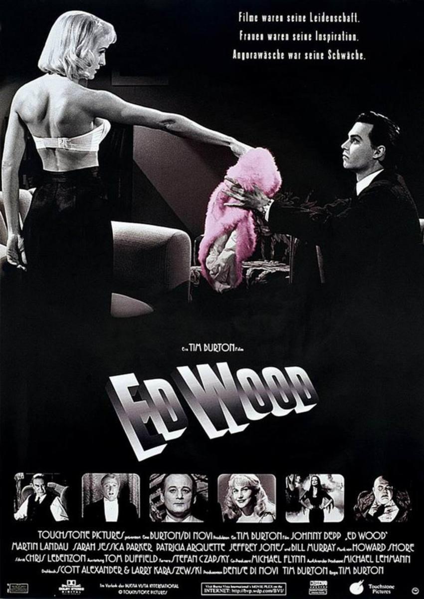 Ed Wood (1994) German poster