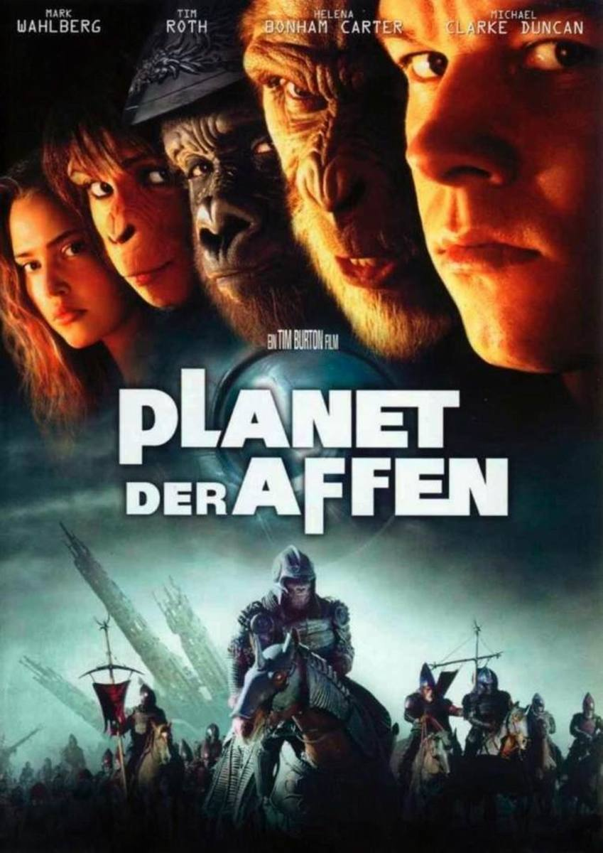 Planet of the Apes (2001) German poster