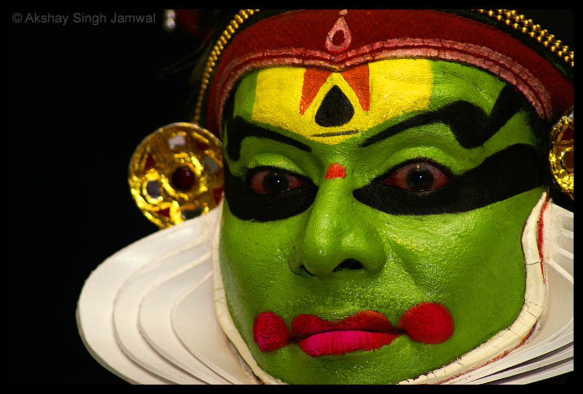 Kathakali, the classical dance of Kerala