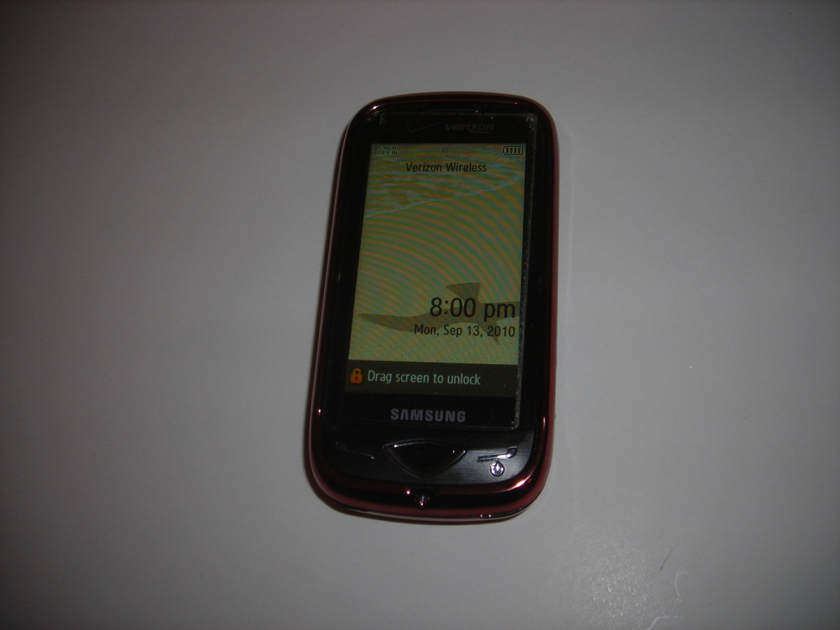 Can Verizon Wireless Answer Anything ? Samsung Reality Touch Pad Sound