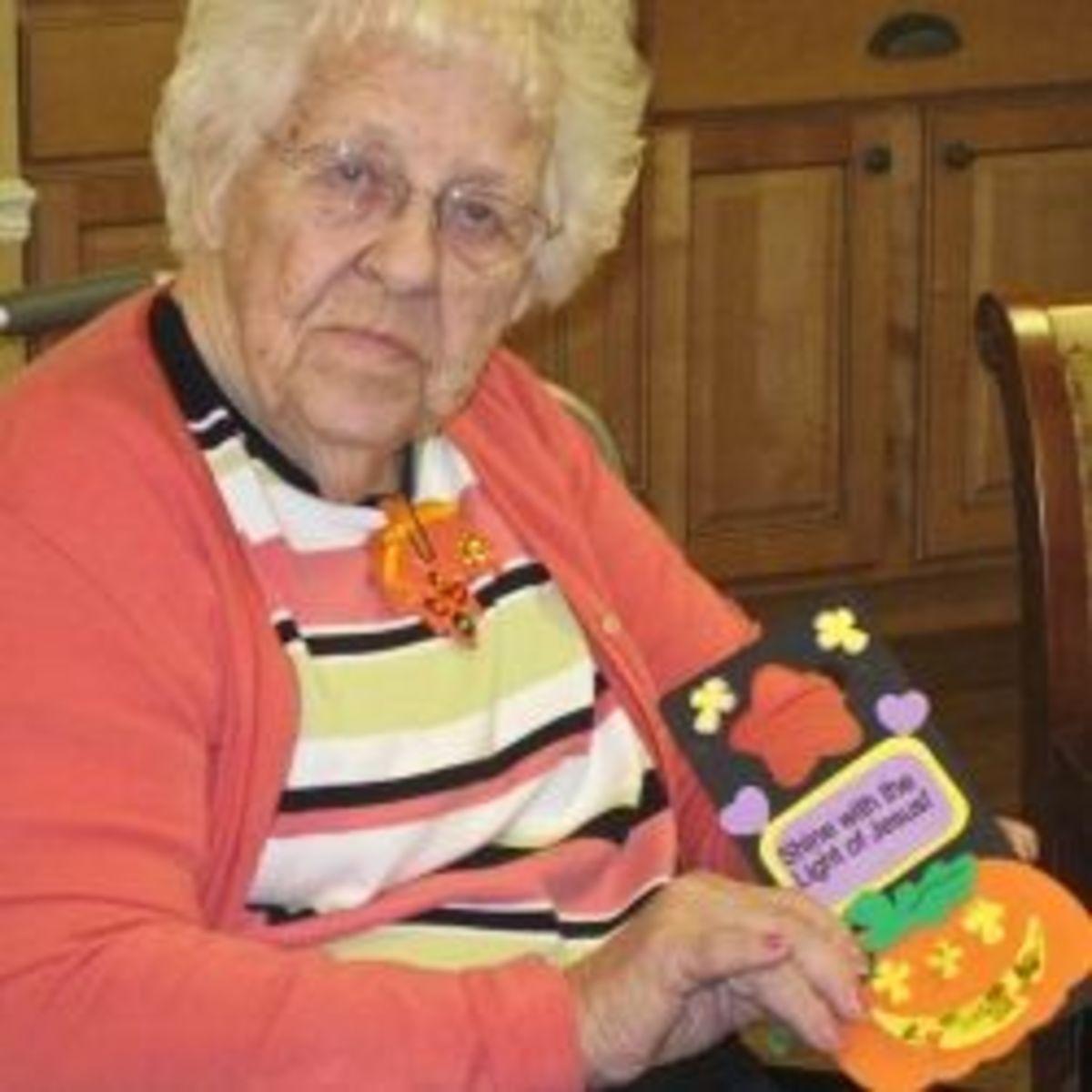 Halloween Crafts for the Elderly