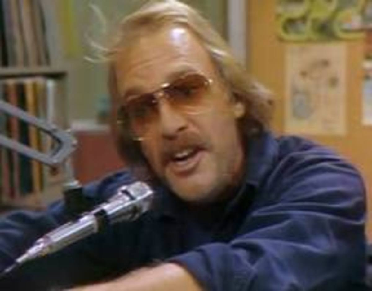 """On the Air with WKRP Disc Jockey """"Dr. Johnny Fever"""""""