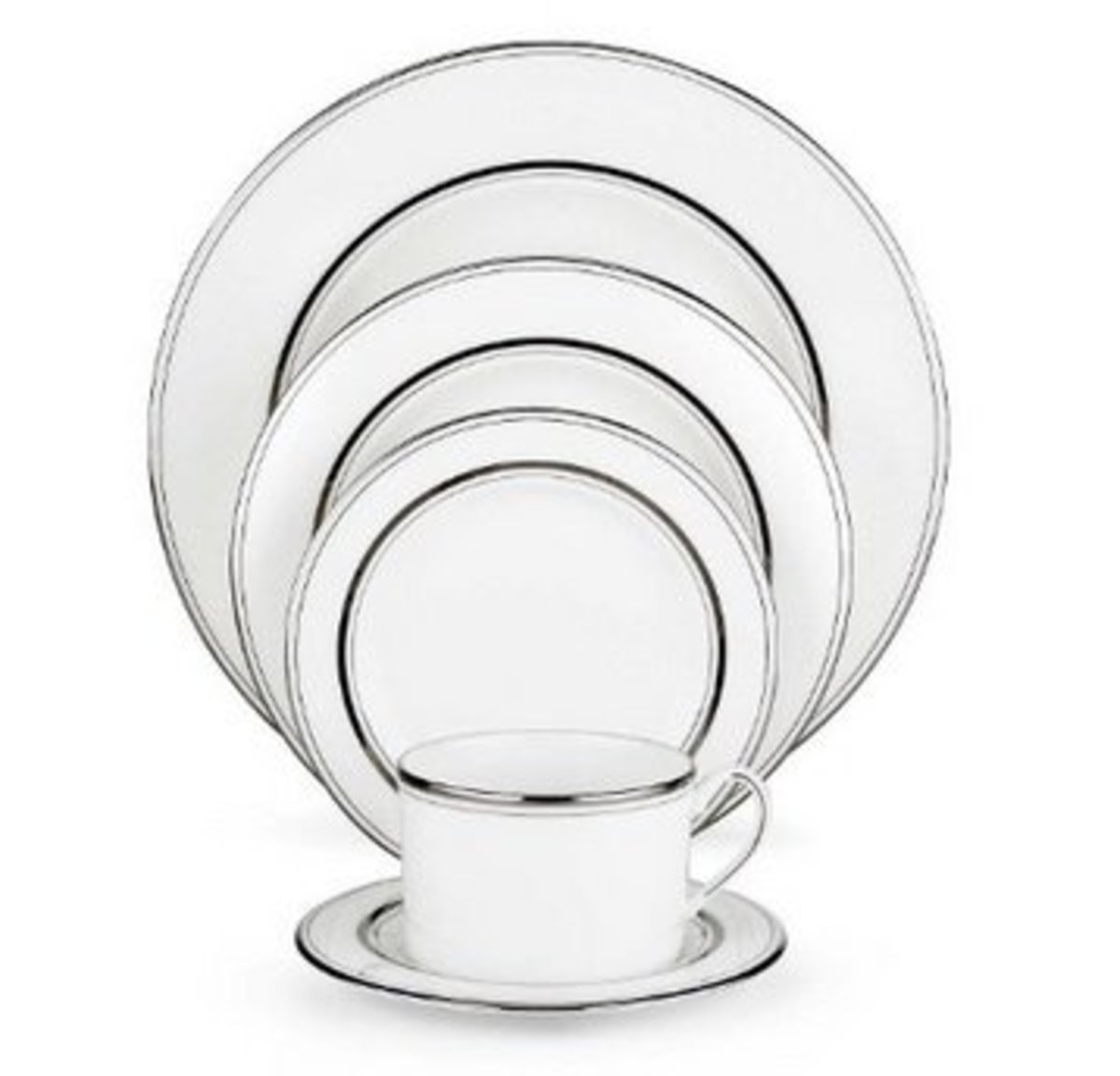 Sophisticated and Modern American Made Dinnerware.