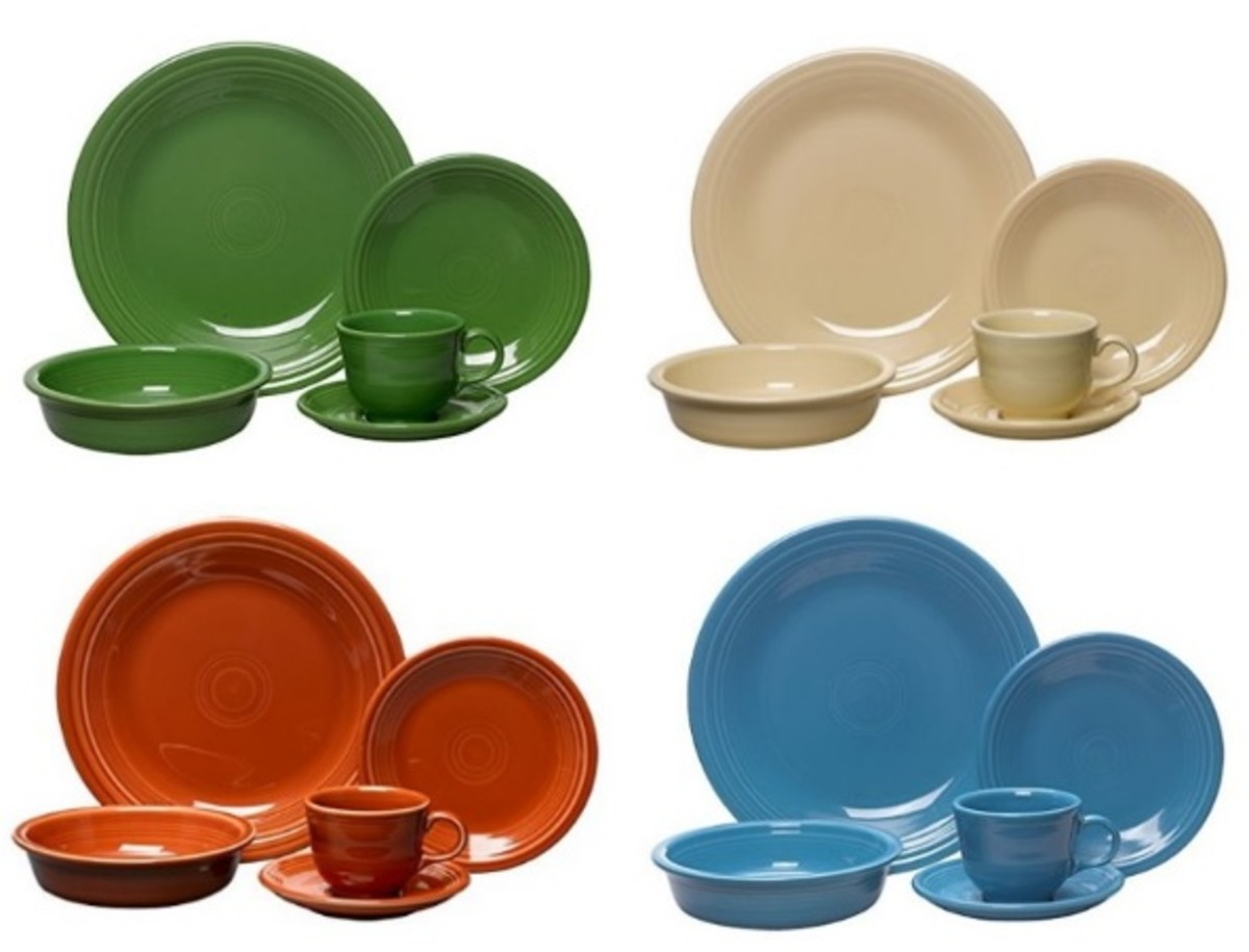 Fiesta American-made Dinnerware Sets  sc 1 st  HubPages & 5 Great Lead-Free Dinnerware Brands Made in the USA | HubPages