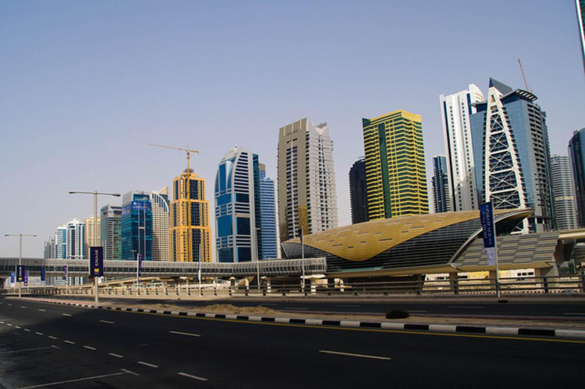 Building the Dubai Metro