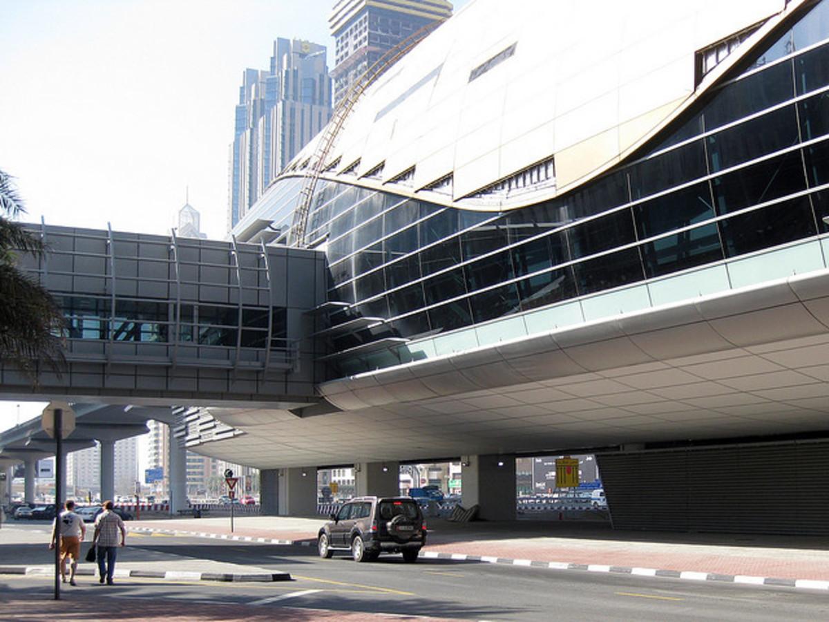 Dubai Metro Station, Sheikh Zayed Road