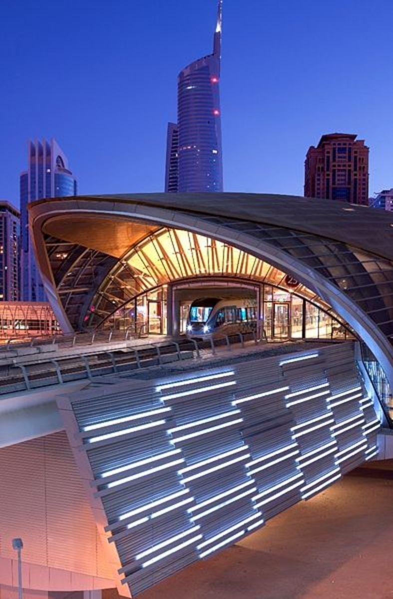 JLT Station, Dubai Metro, UAE.