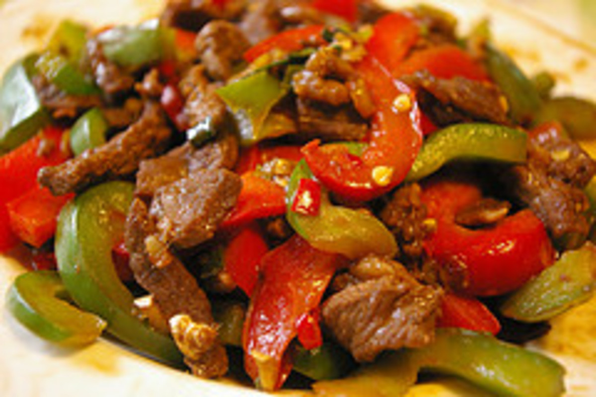 Beef Stir Fry that comes with compliments!