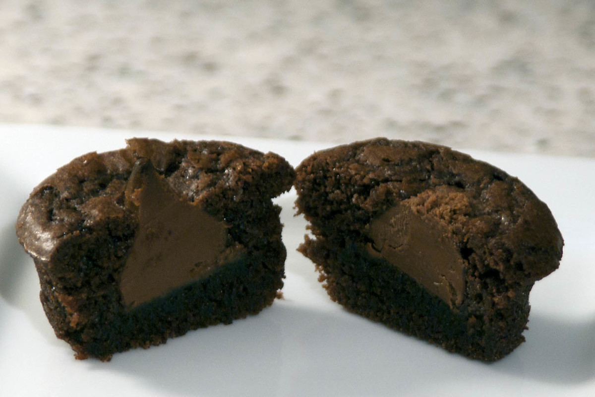 Consider a chocolate cupcake recipe with a delicious filling.