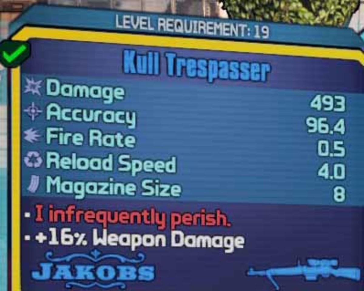 Borderlands 2 Get Good Sniper Weapons like the Kull Trepasser