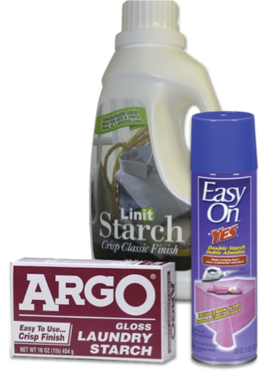 Some additional Starch options from Argo, Linit, and Easy-On.