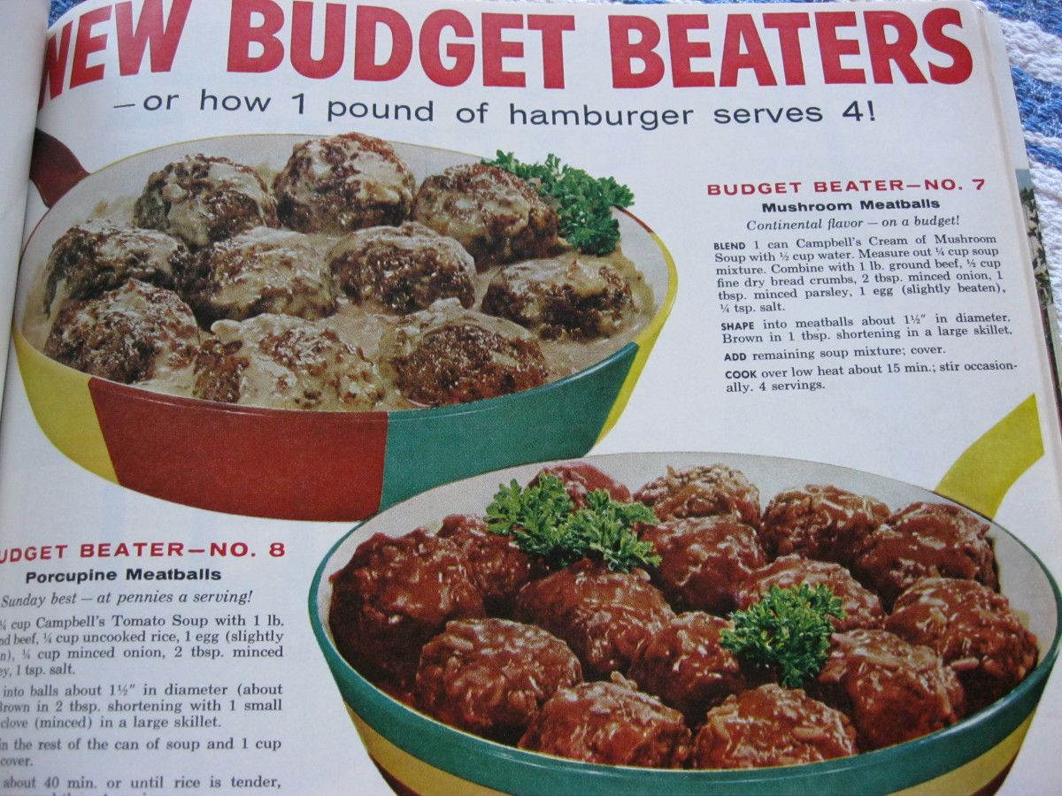 Budget Receipes for stretching a pound of hamburger
