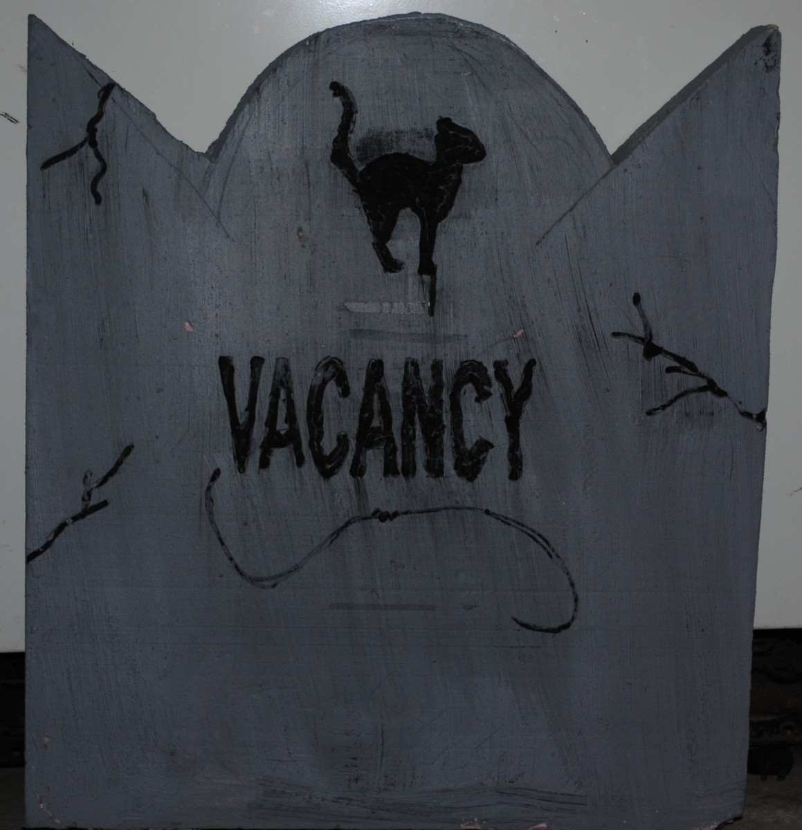 One of my funny tombstones for Halloween