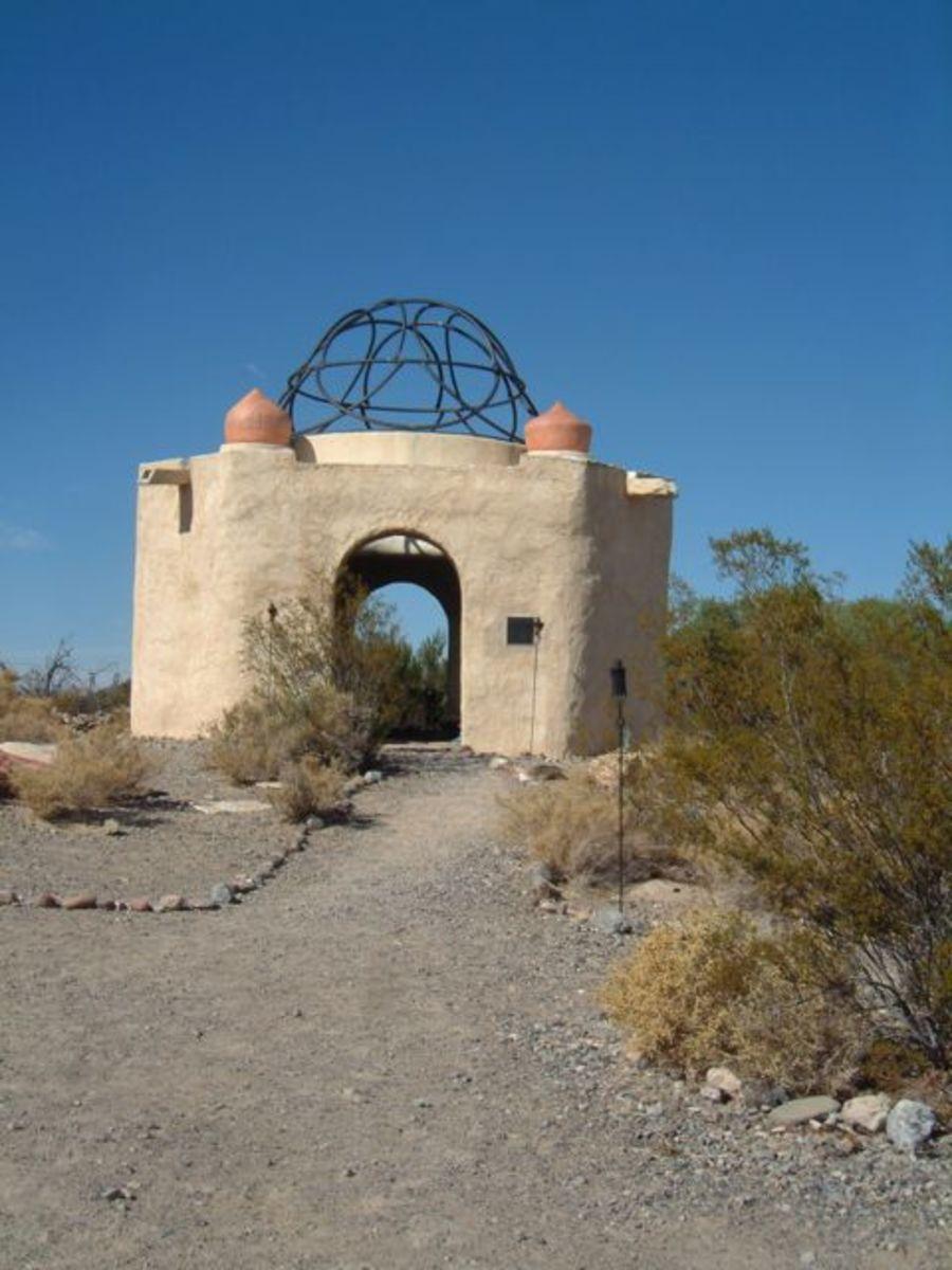 Temple of Goddess Spirituality, dedicated to Sekhmet