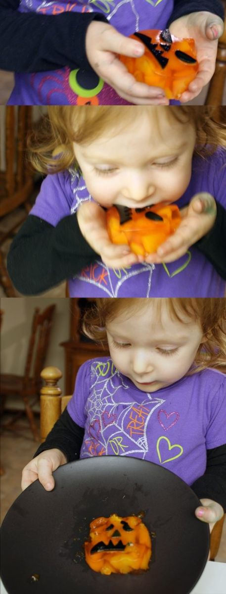 Yum (and fun)! Halloween Jell-o